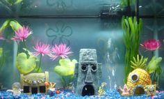 7 Disney Themed Fish Tank Ideas Fish Tank Fish Tank Decorations Fish