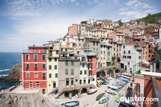 Portovenere, situated to the south of the Cinque Terre on the Italian Riviera. Stay at the Grand Hotel Portovenere, a former 17th-century convent in the center of town, to wake up to amazing sights of this colorful town (the restaurant is also perfect for a white tablecloth dinner). UNESCO World Heritage Site -- and it well deserves the title: The town is believed to date back to the first-century B.C. picturesque San Pietro Church on a rocky outcrop overlooking the sea, beautiful narrow…