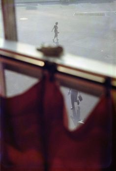 Saul Leiter     Red Curtain, New York City     1956