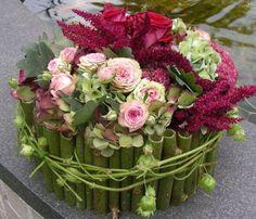 Workshop bloementaart maken op de Herfstfair