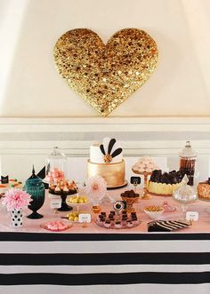 Make your cake table unique by satisfying all of your guests dessert tastes with multiple mini dessert selections!
