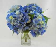 Real Touch Hydrangea for Home Decor and Silk by RussellPriceFloral