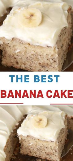 BEST BANANA CAKE Preparation time: 20 minutes Bake time: 1 hour 15 minutes Servings: 15 Ingredients: 1 Cup mashed ripened bananas (overripe the best) 2 Tbs lemon juice , divided 1 Cups milk 3 Cups Banana Recipes, Cake Recipes, Dessert Recipes, Fun Desserts, Delicious Desserts, Yummy Food, Yummy Treats, Sweet Treats, Cake Preparation