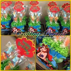 home made little mermaid decorations - Google Search