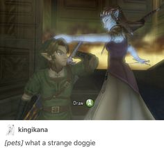 "Link is like ""NO"""