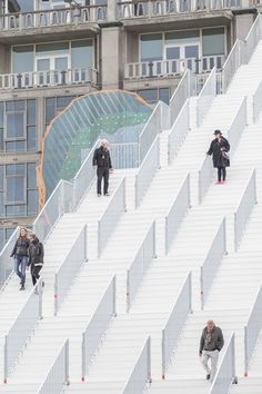 Image 15 of 31 from gallery of MVRDV Unveil Monumental Urban Staircase in the Center of Rotterdam. Photograph by Laurian Ghinitoiu