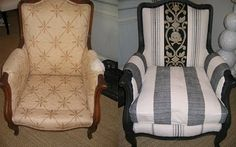 old chair given a new life