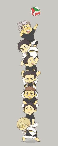Team Fukurodani