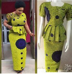 Hello Fashionable Ladies check out 2019 top classical ankara skirt and blouse styles for african beautiful and fashionable ladies. African Dress Patterns, African Print Dress Designs, African Dresses For Kids, African Maxi Dresses, Ankara Skirt And Blouse, Latest African Fashion Dresses, African Print Fashion, African Attire, African Wear
