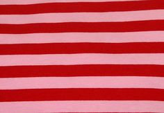 Knit Red Pink Stripes 1/2 Fabric 1/2 yard  Gorgeous knit, great quality, extra stretchy and soft, 4 way stretch 95% Cotton 5% Lycra  The price
