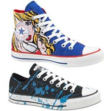 Converse Pop Art Collection via @Incredible Things