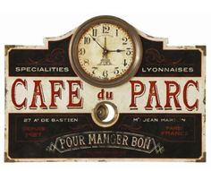 French Kitchen: Retro Home Decor features Coffee Absinthe and More