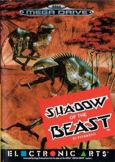 Cover art for Shadow of the Beast - Sega Genesis