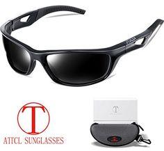 ae5e373b55f ATTCL Men s Polarized Sunglasses Sports Glasses for Men Cycling Driving Golf