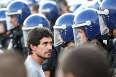 The face of The Protester.   Portugal