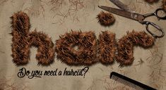 Create Realistic Hair Or Fur Text Effect In Photoshop