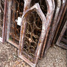New Goal In Life Find An Old Church Window And Hang It