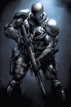 Agent Venom by Clayton Crain (Marvel comics)