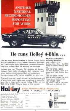 Holley ad
