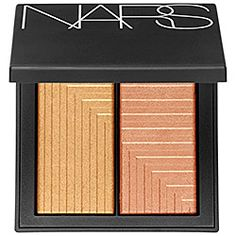 This shimmering #blush duo can be applied wet or dry for endless cheek looks. I love all the shade combinations. #Sephora #Nars