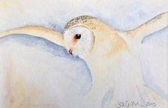 'Hunter' by Jill Griffin MUST DO THIS IN WATERCOLOURS