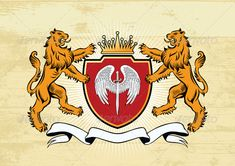 Lion Crest #GraphicRiver Detail lion coat of arms illustration. Created: 22November11 GraphicsFilesIncluded: JPGImage #VectorEPS
