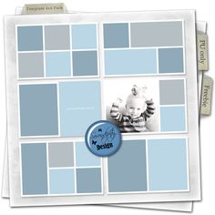 FREE Serendipity Design: Another freebie for this weekend, Template Pack 4x6