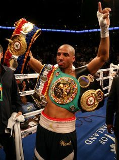 WBA champion Andre Ward is ready for a super-middleweight unification title showdown against WBA and IBF belt holder Carl Froch and would be happy to fight in the UK. Kickboxing, Muay Thai, Jiu Jitsu, Mma, Boxing Images, Star Of The Week, Professional Boxing, World Boxing, Boxing Champions