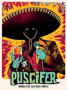 Puscifer Poster Series - Ivan Minsloff