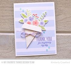creating a bouquet of flowers; MFT Stamps March Release Countdown