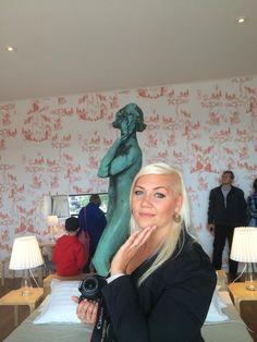 Havis Amandan vieraana syyskuussa 2014