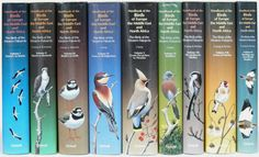 The Birds of the Western Paleartic 9 Volumes Collectable Books at Birdnet Optics