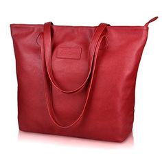 New Trending Shopper Bags: Sunny Snowy Large PU Leather Tote Handbags Fashion Design Women Shoulder Bag (8014-red). Sunny Snowy Large PU Leather Tote Handbags Fashion Design Women Shoulder Bag (8014-red)  Special Offer: $20.99  288 Reviews Product Features Material:Tote handbags made of high-density lightweight PU leather,top quality zipper and polyester cotton lining. CloseType:Zipper smooth easy...