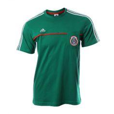 Siéntete cómodo y luce la Camiseta Adidas FMF con la cual podrás apoyar a tu equipo y sentir la pasión con un look casual y patriota. Presume tu orgullo y ponte la verde con la Camiseta Adidas FMF.