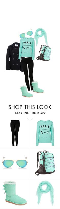 """""""For the 2 sisters"""" by silentair ❤ liked on Polyvore featuring Aéropostale, Noisy May, Vero Moda, Ray-Ban, UGG Australia, Michael Stars and OneShot"""