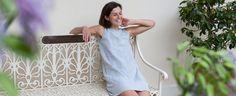 How to make a Simple Linen A-Line Dress Tutorial