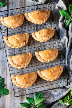 Argentinian-Style Baked Chicken Empanadas: this easy recipe for baked chicken empanadas will show you how to make savory hand pies that the whole family will love. Your kids will enjoy this delicious South American comfort food at lunch or dinner. Chicken Empanadas, Baked Empanadas, Savory Pastry, Baked Chicken Recipes, Hand Pies, Mexican Food Recipes, Jello Recipes, Snacks Recipes, Fish Recipes