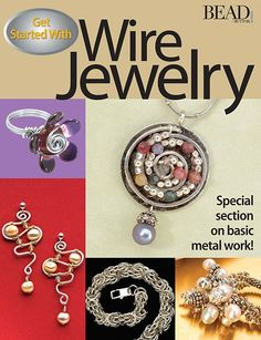 Learn to make wire jewelry today! $12.95