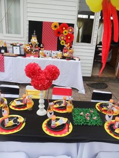 Mickey Mouse Party  #mickeymouse #party #food