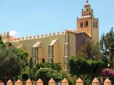 ExConvento Agustino San Miguel Arcángel #Ixmiquilpan, joya arquitectónica del s.XVI, no dejes de observar sus murales