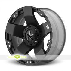 XD Series XD775 Rockstar Black Wheels