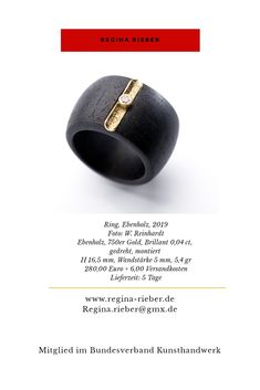 www.regina-rieber.de Computer Mouse, Gold, Studio, Arts And Crafts, Ring, Pc Mouse, Studios, Mice, Yellow