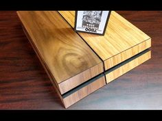 Wooden Cover PlayStation 4 » Gadget Flow