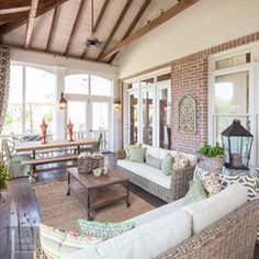contemporary porch by The Porch Company.