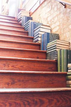 Place Books on Your Staircase, Not the Shelf