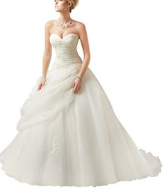 88696509228 ace Homme Sweetheart Ball Gown Tulle Bridal Wedding Dresses With Drap Waist