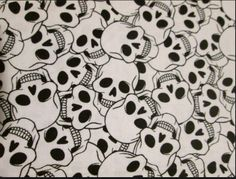 I will have skulls as the biggest peice on the chair so maybe something more subtle? Love this though