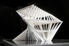 I was interested in transforming between triangular and rectangular floor-plans. The result was a three-floor steel reinforced structure. No floors or windows. Each structural member is meant to represent the materially efficient response to both...
