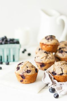 Clean Eating Blueberry Muffin Recipe clean eating blueberry muffins