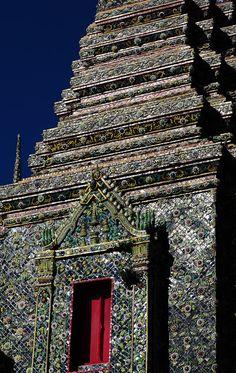 Wat Pho (Temple of the Reclining Buddha) in Bangkok, Thailand Copyright: Andy Valadka